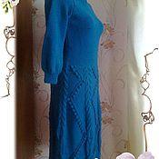Одежда handmade. Livemaster - original item Knitted warm dress. Handmade.