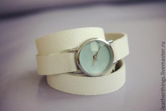 Часы ручной работы. Ярмарка Мастеров - ручная работа. Купить Часы женские. Handmade. Часы, подарок, модные, часики, кожа
