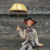 """Куклы и игрушки ручной работы. Ярмарка Мастеров - ручная работа """"Я ждал тебя, я ждал... меня продуло..."""". Handmade."""