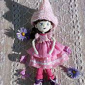 Куклы и игрушки ручной работы. Ярмарка Мастеров - ручная работа Кукла Розовое лето. Handmade.
