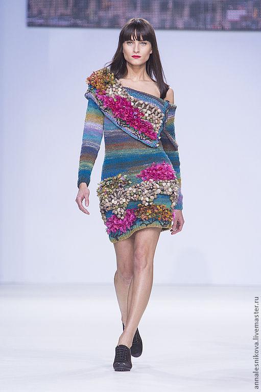"""Платья ручной работы. Ярмарка Мастеров - ручная работа. Купить Платье """"Парк Гуэль"""". Handmade. Рисунок, дизайнерская одежда"""