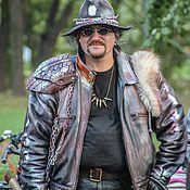 """Куртки ручной работы. Ярмарка Мастеров - ручная работа Куртка """"Адского Судьи"""". Handmade."""