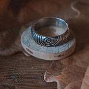 Кольца ручной работы. Ярмарка Мастеров - ручная работа Кольцо-спираль. Handmade.