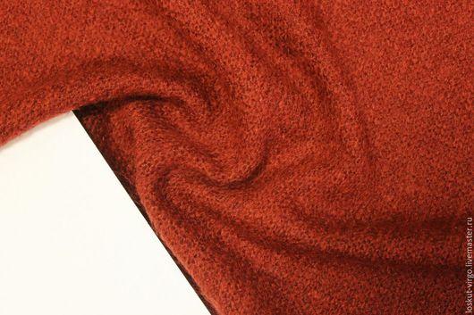 Шитье ручной работы. Ярмарка Мастеров - ручная работа. Купить Трикотаж цвет терракотово-красный. Handmade. Итальянская ткань