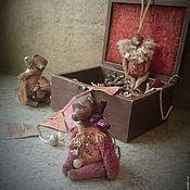 """Куклы и игрушки ручной работы. Ярмарка Мастеров - ручная работа """"Новогодняя коробочка с сердечком"""". Елочные игрушки. Handmade."""