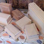 Для дома и интерьера ручной работы. Ярмарка Мастеров - ручная работа Заготовки шкатулок для резьбы и творчества. Handmade.