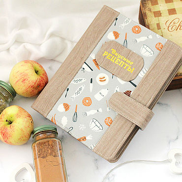 Stationery handmade. Livemaster - original item Cookbook Delicious recipes. Handmade.