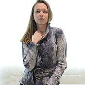"""Одежда ручной работы. Ярмарка Мастеров - ручная работа Жакет   """"Шелковое  серебро"""". Handmade."""