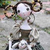 Куклы и игрушки ручной работы. Ярмарка Мастеров - ручная работа Авторская кукла Моя дочь - ОВЕН. Handmade.