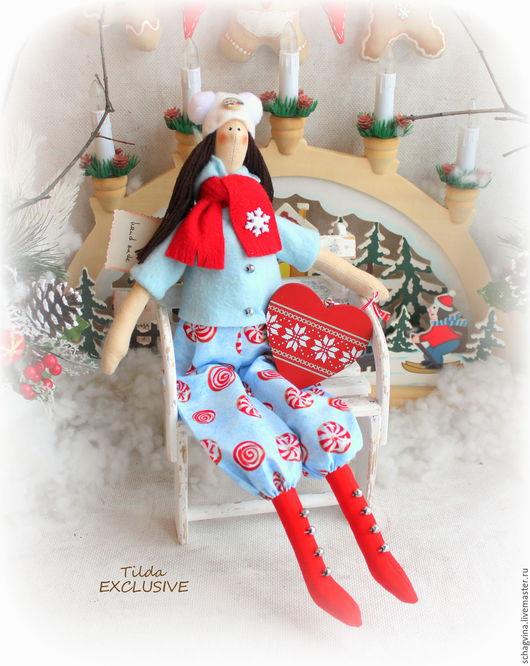 Новый год 2017 ручной работы. Ярмарка Мастеров - ручная работа. Купить Алина. Handmade. Принцесса, интерьерная кукла, с новым годом