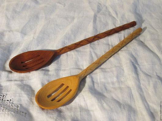 Кухня ручной работы. Ярмарка Мастеров - ручная работа. Купить Шумовка деревянная. Handmade. Шумовка деревянная, посуда из дерева, дерево