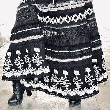 """Одежда ручной работы. Ярмарка Мастеров - ручная работа Бохо-юбка """"Полнолуние"""". Handmade."""
