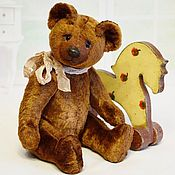 Куклы и игрушки handmade. Livemaster - original item Teddy Bears: Soviet bear (pattern 1950-70 years). Handmade.