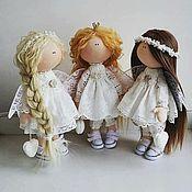 Куклы и игрушки handmade. Livemaster - original item Angels are different need a handmade Textile doll. Handmade.