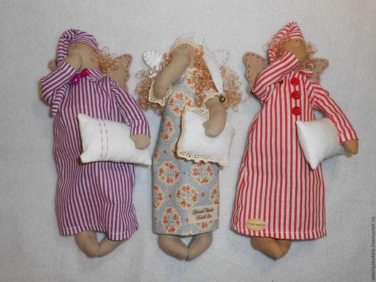 Куклы Тильды ручной работы. Ярмарка Мастеров - ручная работа. Купить Сонный ангел. Handmade. Комбинированный, подарок