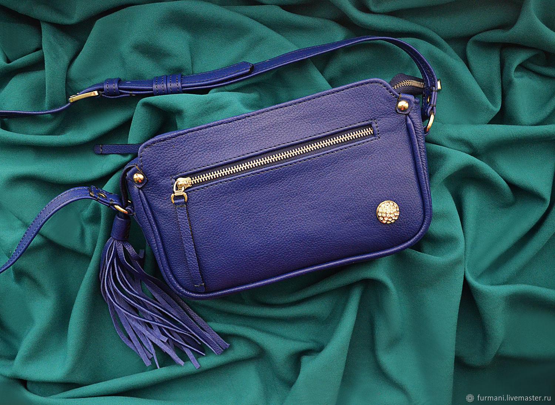 "Leather bag ""JACQUELINE"", Crossbody bag, Krivoy Rog,  Фото №1"
