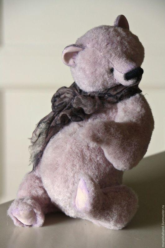Мишки Тедди ручной работы. Ярмарка Мастеров - ручная работа. Купить Дымка 30 см во весь рост. Handmade. подарок