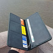 Сумки и аксессуары handmade. Livemaster - original item Leather wallet Inzer Zip. Handmade.
