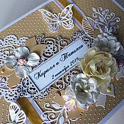 Свадебный салон ручной работы. Ярмарка Мастеров - ручная работа Сундучок для денежных конвертов и открыток. Handmade.