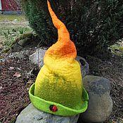 """Для дома и интерьера ручной работы. Ярмарка Мастеров - ручная работа Банная шапка ,,Колпак"""". Handmade."""