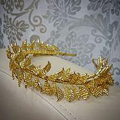 Свадебный салон handmade. Livemaster - original item tiara. Greek.. Handmade.