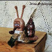 Куклы и игрушки ручной работы. Ярмарка Мастеров - ручная работа Улитк. Handmade.