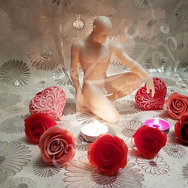 """Косметика ручной работы. Ярмарка Мастеров - ручная работа """"Обнаженный мужчина"""" мыло подарок женщине эротика. Handmade."""