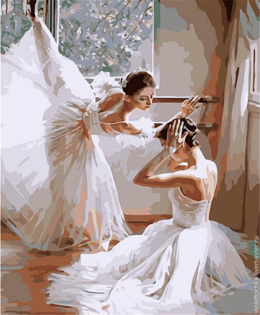 Картина для рисования по номерам `Балерины` (артикул 26). Набор можно заказать в любых размерах в технике `Набор для рисования картин` ,`Алмазная живопись` и в технике `Фотокартина`. Цены по запросу.