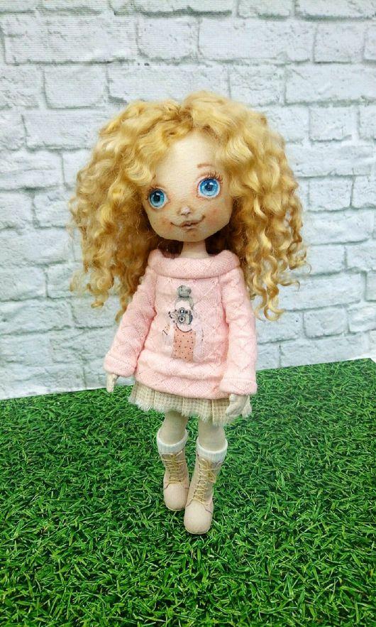 Коллекционные куклы ручной работы. Ярмарка Мастеров - ручная работа. Купить Текстильная кукла. Handmade. Кукла ручной работы, кукла