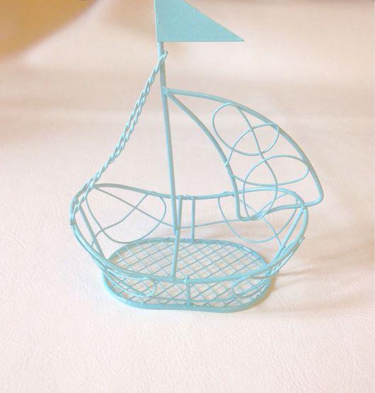 Куклы и игрушки ручной работы. Ярмарка Мастеров - ручная работа. Купить Кораблик металлический. Handmade. Корабль, кораблик, корабли, кораблики