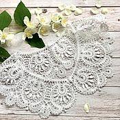 handmade. Livemaster - original item False lace collar. Handmade.