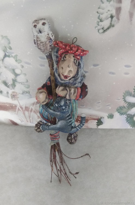 Игрушка из ваты Бабка Ежка, Игрушки, Рыбное,  Фото №1