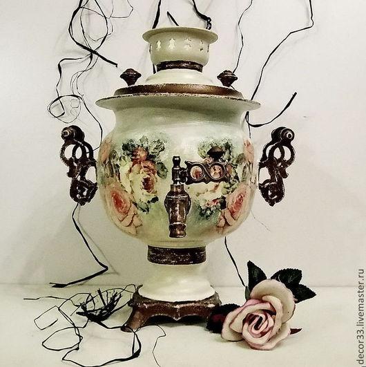 Чайники, кофейники ручной работы. Ярмарка Мастеров - ручная работа. Купить Самовар Чайная церемония. Handmade. Бежевый, нужный подарок