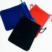 Сувениры и подарки handmade. Livemaster - original item Velvet pouch .. Handmade.