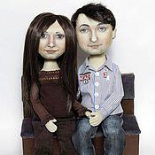 Куклы и игрушки ручной работы. Ярмарка Мастеров - ручная работа Куклы портретные. Пара №4. Handmade.