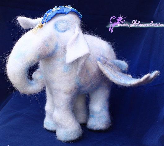 Игрушки животные, ручной работы. Ярмарка Мастеров - ручная работа. Купить Небесный летающий слон. Handmade. Слон, синтепон