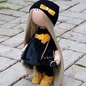 Куклы и игрушки ручной работы. Ярмарка Мастеров - ручная работа Девочка-фотограф. Handmade.