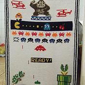 Картины и панно ручной работы. Ярмарка Мастеров - ручная работа Пиксель арт. Handmade.