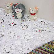 Для дома и интерьера ручной работы. Ярмарка Мастеров - ручная работа Одеялко нежное для девочки. Handmade.