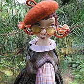 Куклы и игрушки ручной работы. Ярмарка Мастеров - ручная работа Подвижная куколка Тыковка.... Handmade.