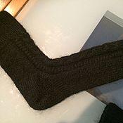 Носки ручной работы. Ярмарка Мастеров - ручная работа Носки: Носки вязаные мужские. Handmade.