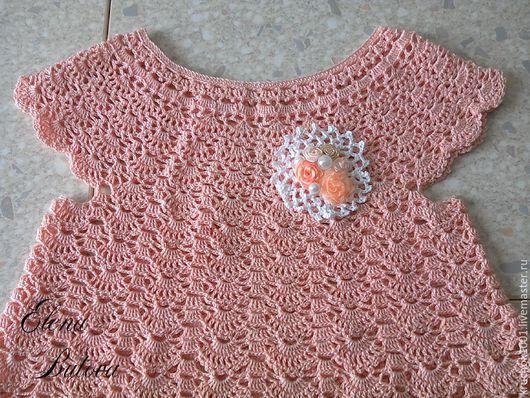 """Одежда для девочек, ручной работы. Ярмарка Мастеров - ручная работа. Купить Платье """" Нежный персик"""". Handmade. Платье"""