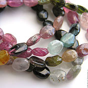 Материалы для творчества handmade. Livemaster - original item Tourmaline beads tumbling. Handmade.