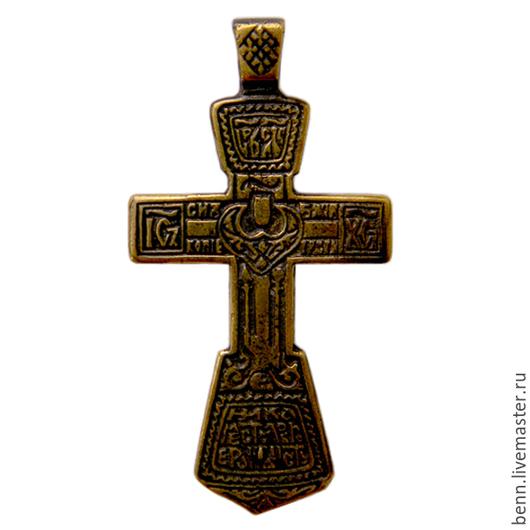 """Кулоны, подвески ручной работы. Ярмарка Мастеров - ручная работа. Купить Кулон """"Православный крест"""" (4). Handmade. Крест, нательный"""