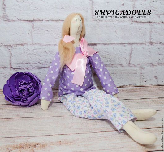Кукла тильда -беременяшка