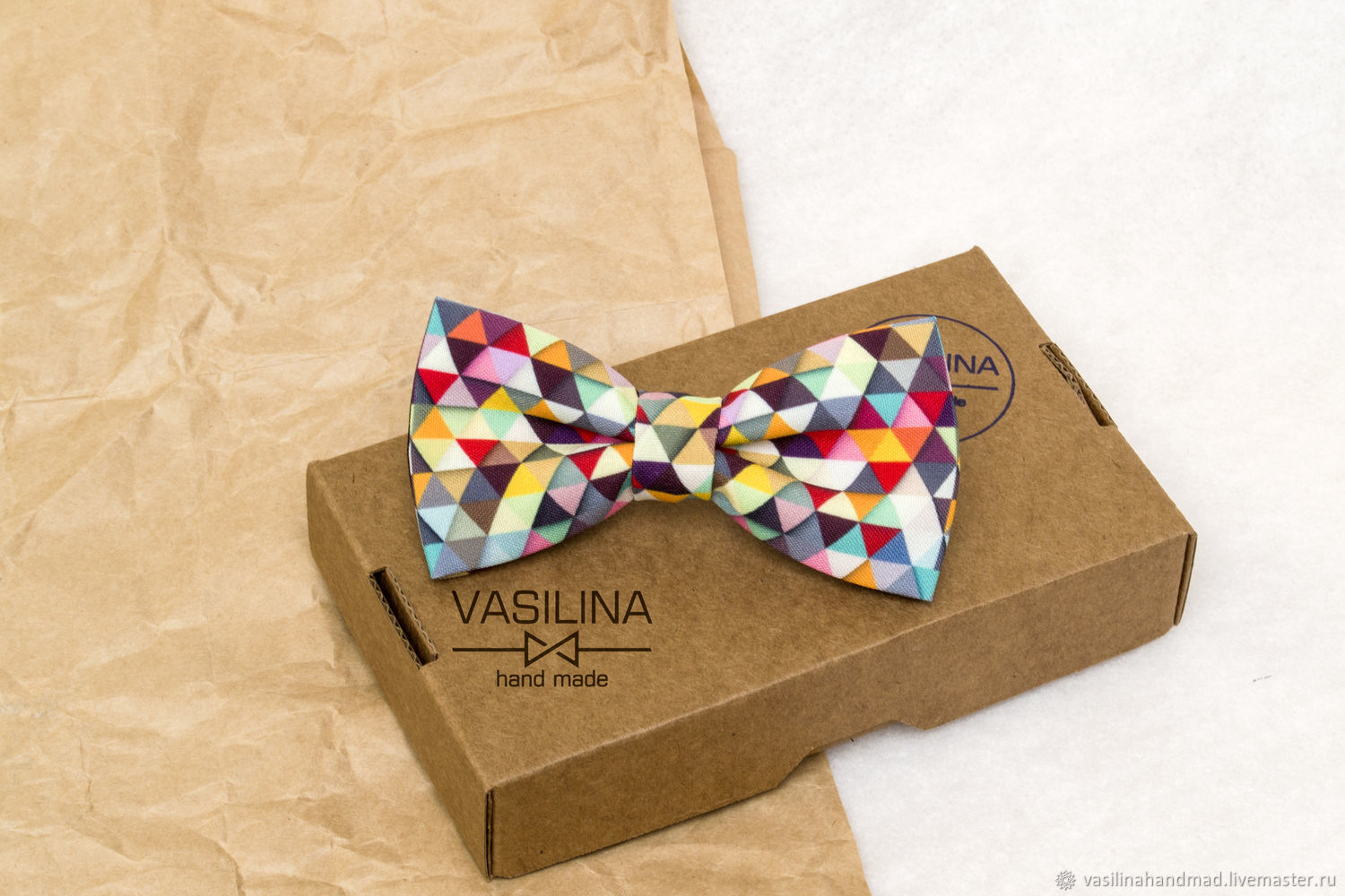 The bow-tie Geometry Triangles, Ties, Rostov-on-Don,  Фото №1