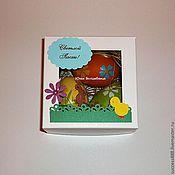 Сувениры и подарки ручной работы. Ярмарка Мастеров - ручная работа Коробка для пасхальных яиц - оригинальная упаковка. Handmade.