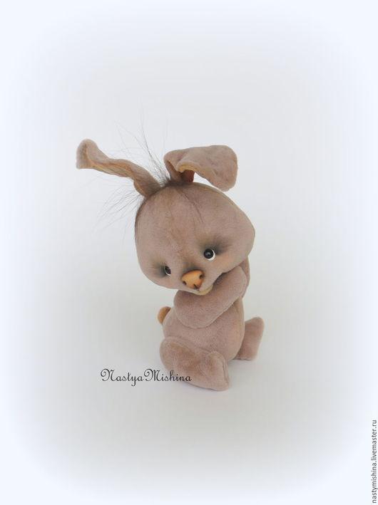 Мишки Тедди ручной работы. Ярмарка Мастеров - ручная работа. Купить Заюшка. Handmade. Брусничный, мериносовая шерсть, миник, гранулят