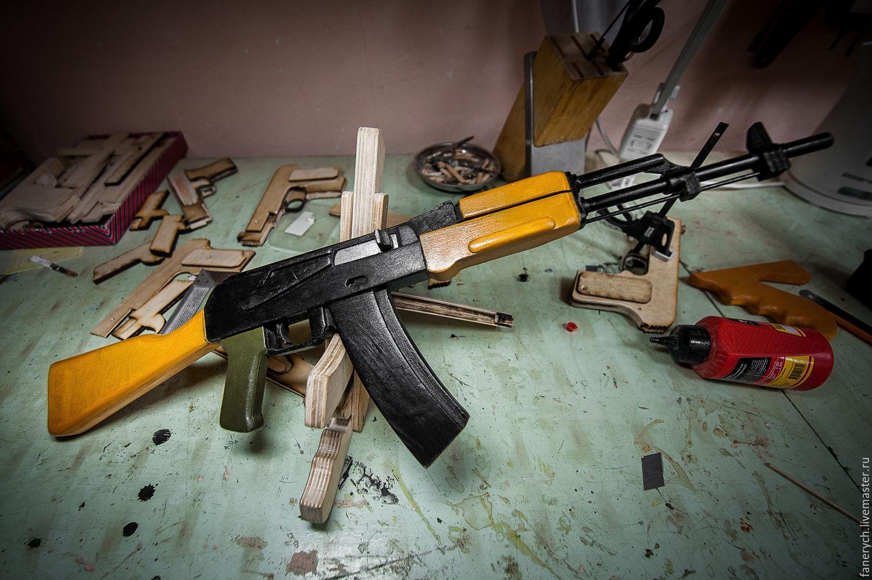 Как сделать деревянный автомат своими руками - Блог Ивана