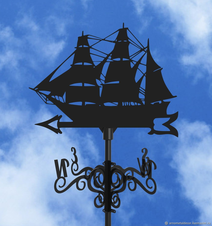 Weather vane on the roof ' Ship', Vane, Ivanovo,  Фото №1